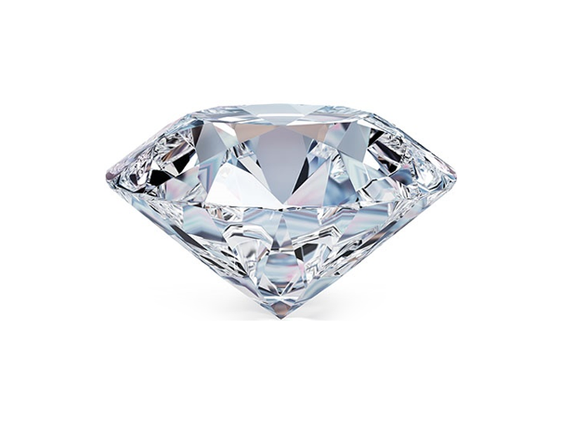 Round Diamond 87087294 - D Color - If
