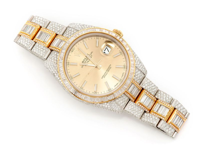 Pre-owned  Datejust 41mm  18K/SS  18.90ctw