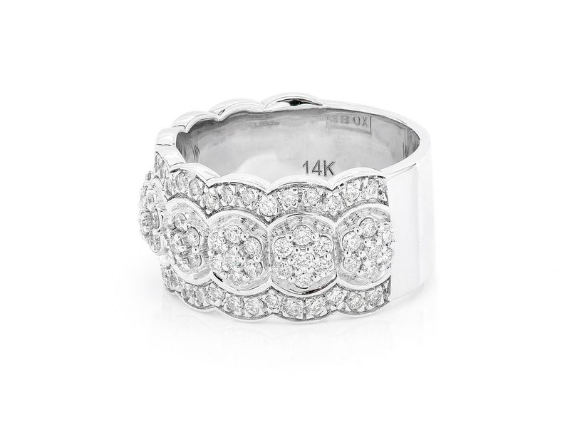 Ripple Ring 14K   1.80ctw