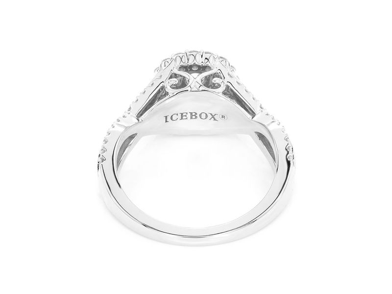 Double Band Round Ring 14K   0.72ctw