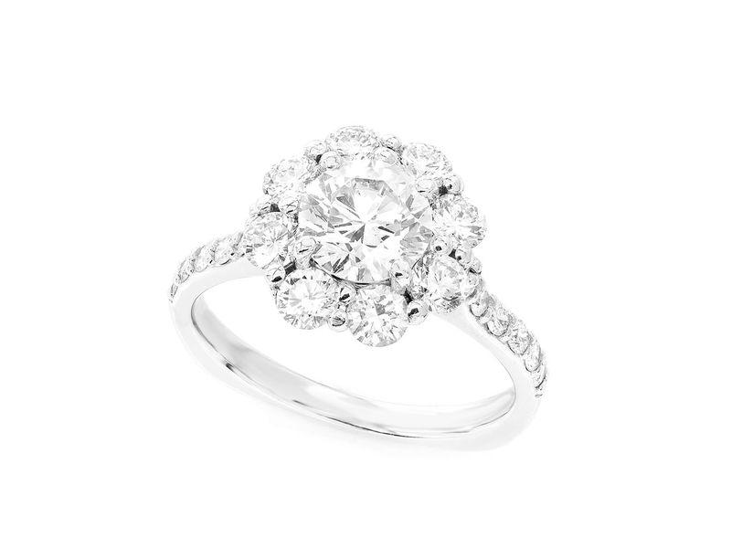 Engagement Ring 14K   2.24ctw