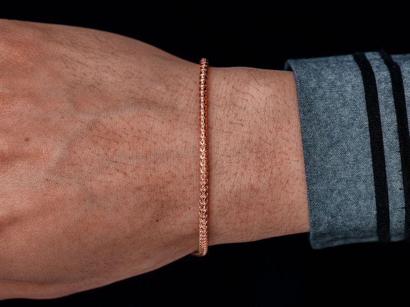 2.5mm Franco 14K   Bracelet