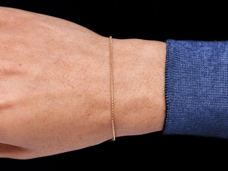 1.25mm Franco 14K   Bracelet