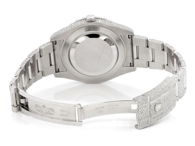 Pre-owned Rolex Datejust 2 41MM SS  25.81ctw