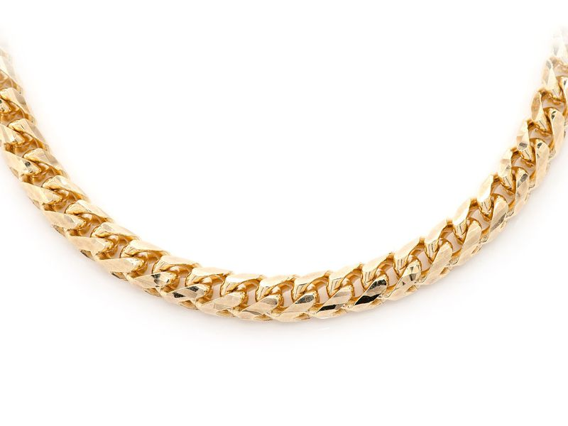 5mm Franco 14K   Chain