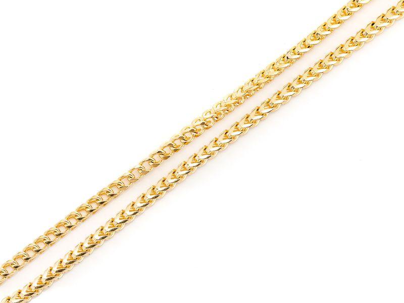 2.75mm Franco 14K   Bracelet
