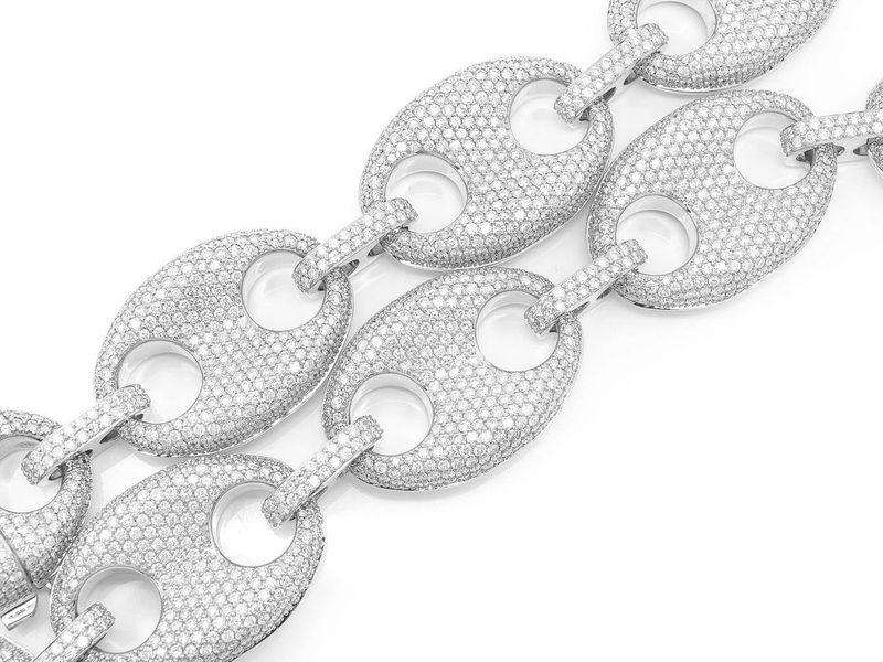 Mariner Link Necklace 14K   95.67ctw