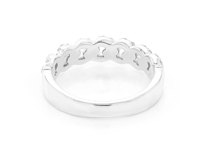 Cuban Band Ring 14K   0.57ctw