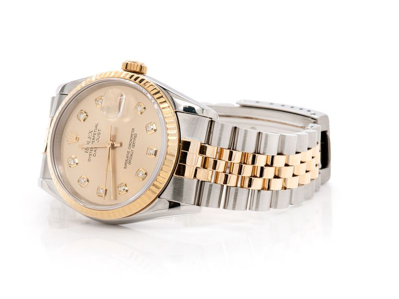 Pre-owned Rolex Datejust 36MM 18K/SS